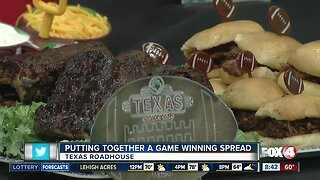 Putting together a game-winning spread with Texas Roadhouse