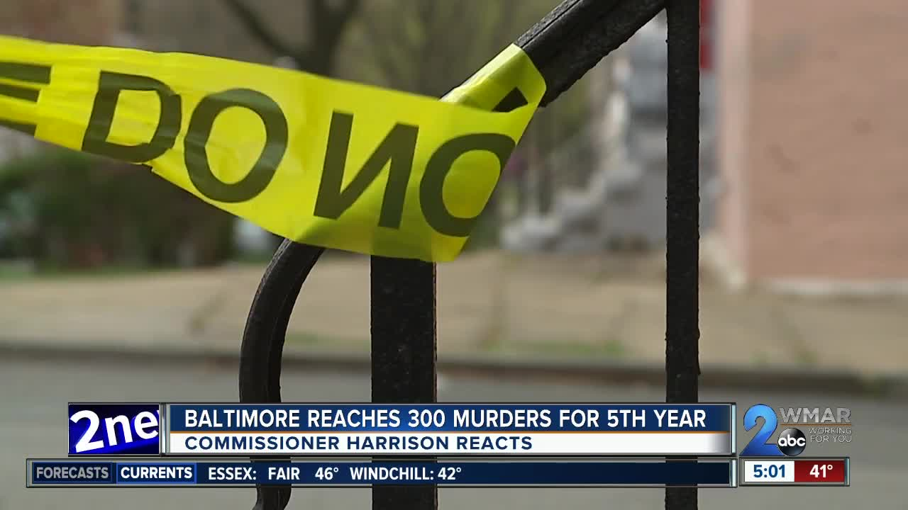 Mayoral candidates react after Baltimore reaches 300 homicides for fifth consecutive year