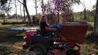 Carrying out an Old Chair 'Redneck Style' - Video