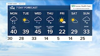 A cool end to Sunday expected