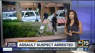 Barricade suspect arrested in Scottsdale - Video
