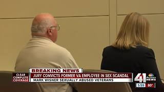 Wisner guilty of abusing patients at VA hospital - Video