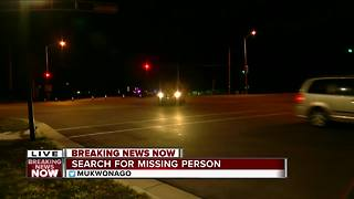 Police looking for person who fled accident scene in Mukwonago - Video