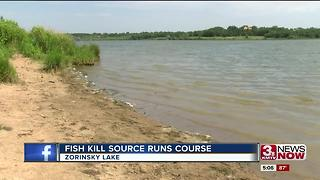 Zorinsky Lake fishkill believed over - Video