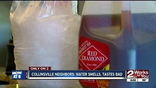 Neighbors in Collinsville can't stand the water - Video