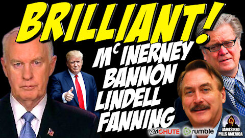 BRILLIANT! Proud Patriots PUMMEL The Plotters! McInerney, Fanning, Lindell, Bannon, Shiva & More!