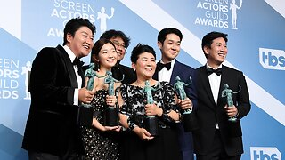 'Parasite' Is First Foreign-Language Film To Win Major SAG Award