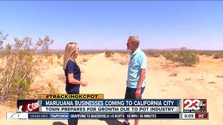 California City entrepreneurs, officials prepare for marijuana business boom - Video