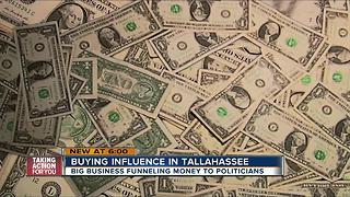 Buying influence in Tallahassee - Video