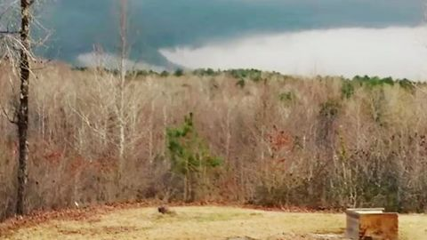 Funnel Cloud Seen in Northeast Mississippi
