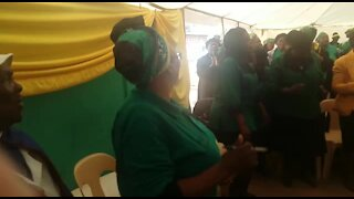 WATCH: Memorial service after death of 'world's oldest' woman (S2S)
