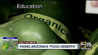 'Food deserts' a growing problem in Grand Canyon State - Video