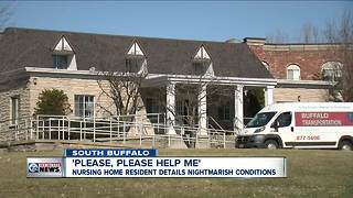 Nursing home resident details nightmarish conditions - Video