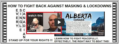 ANGRY ALBERTAN | Superb Commentary on Canadian Freedoms by Jay Cameron from the JCCF.