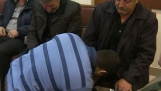 Iranian Father Forgives Son's Killer - Video