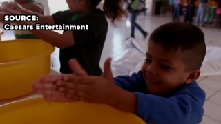 Caesars Entertainment delivers soap to Mexican families in need - Video