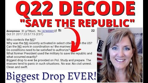 Q22 Decode - Save the Republic (Act of 1871 & Reconstruction) 3-18-21