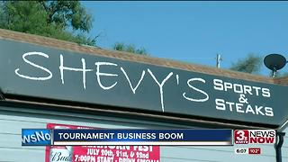 Business hope to cash in on golf tournament 6 p.m. - Video
