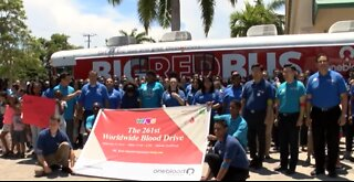 Blood Drive to counter short supply