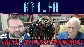Antifa Stands for Anti First Amendment