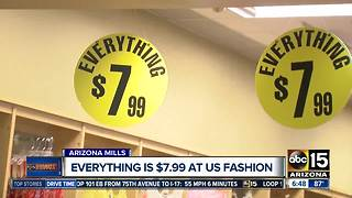 US Fashion: Everything in this store is only $7.99! - Video