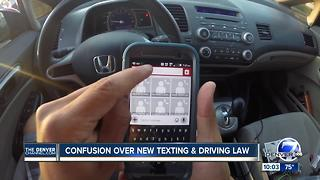 Texting While Driving Law