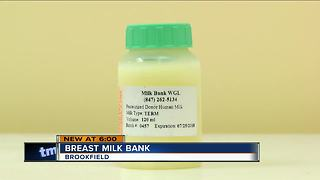 Brookfield opening first human milk dispensary - Video