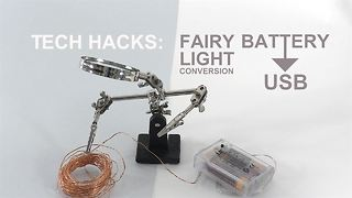 Tech Hacks: Upgrade your Christmas lights - Video