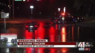 Crews conduct multiple water rescues in KC metro - Video