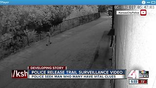 KCPD releases video in connection with Indian Creek Trail crime - Video