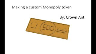 Making a custom Monopoly token