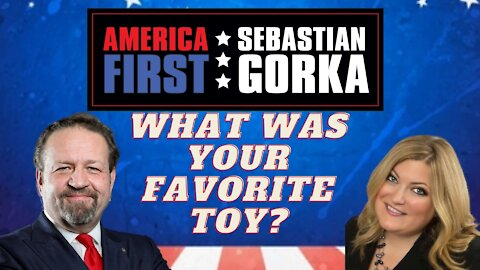 So what was your favorite toy? Jennifer Horn with Sebastian Gorka on AMERICA First