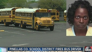 Pinellas County school district fires bus driver after I-Team uncovered driver's trouble with the law - Video