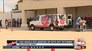 1,300 Salvation Army angels not adopted or gifts returned