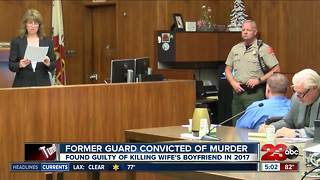 Former correctional officer convicted of murder