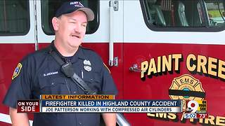 Rural firefighter EMT killed in workplace accident - Video
