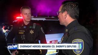 Being vigilant: Niagara County Sheriff's Deputies patrol at night - Video