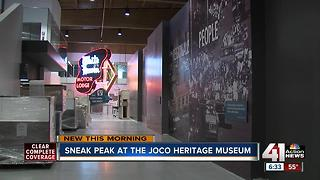 JoCo Heritage Center opening this weekend - Video