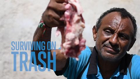 Life from trash, scavenging to live