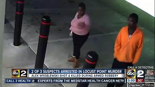 Two of three suspects arrested in Locust Point murder - Video