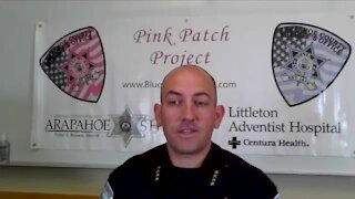 Blue Backs the Pink with Sheriff Brown