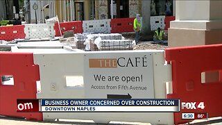 Business owner concerned over months-long street project