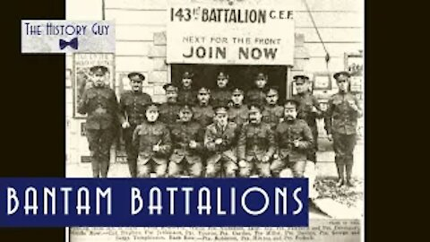 Bantam Battalions of the Great War
