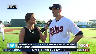 Minnesota Twins spring training home opener this weekend
