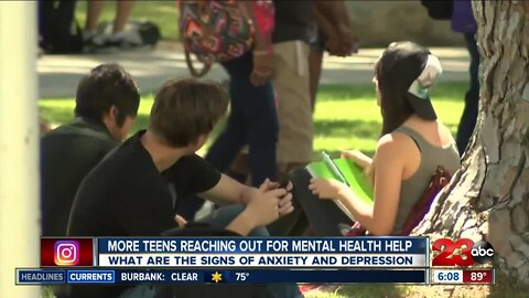Signs that your teen may be suffering from depression or anxiety