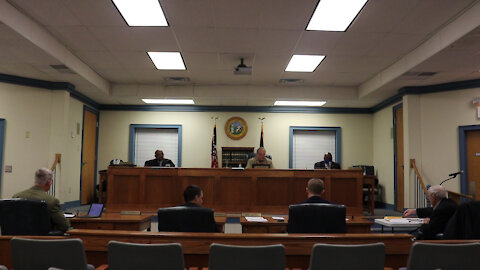Feb 1, 2021 4pm - Pasquotank County Commissioners Meeting - Public Portion - FULL