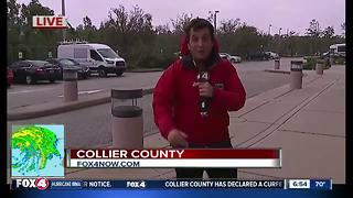 Strong winds hitting Collier County - Video