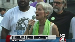Wisconsin officials set timeline for recount - Video