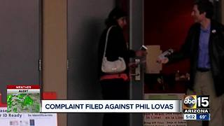 Complaint filed against Phil Lovas - Video