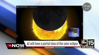 Ready for the solar eclipse Arizona? - Video